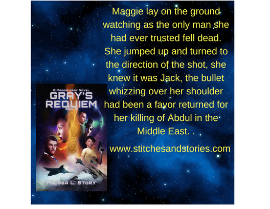 Maggie lay on the ground watching as the only man she had ever trusted fell dead. She jumped up and turned to the direction of the shot, she knew it was Jack, the bullet whizzing over he